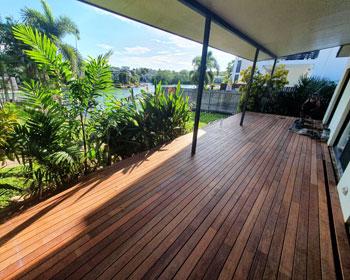 Composite decking outdoor